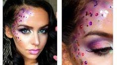my fairy costume makeup!