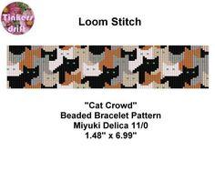 Cat Crowd Loom Beading Pattern | Craftsy