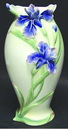 Franz Collection Franz Collection Giftware Vase-Iris - Boxed