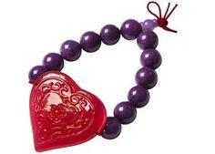 Romantisches Armband mit großem Herz