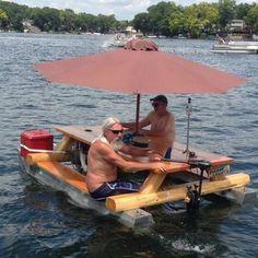 Yea, I got a boat.
