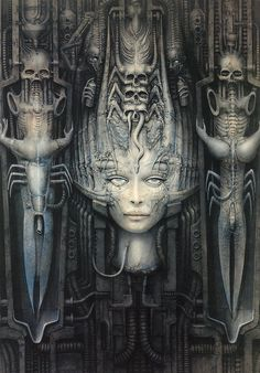 HR Giger  -  Lilith II