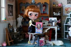 Remember that day when you opened your very first Blythe doll? I still do! and many years later I still look forward to unwrapping a new Blythe. Oh! and finding that $1 Kenner! Ha! Blythe <3