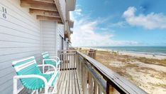 Ocean Mile H-6 - East End - Beachfront - Resort Vacation Properties Beach Vacation Spots, Vacation Resorts, Vacation Travel, Saint George Island, Free Beach, Beach Chairs, Nice View, State Parks, Ocean