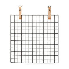 Urban Wire Memo Board - Black