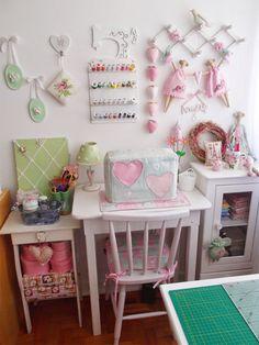 Cantinho Craft para mamães criativas