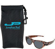 de58f4383a Jonathan Paul Retro Cat Fitover Sunglasses withCase Fit Over Sunglasses