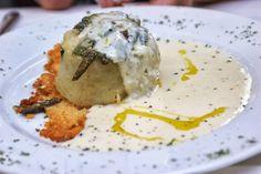 The parmigiano sauce was just delicious