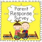 This free parent response survey allows the parents to provide important information at the beginning of the school year.     Thanks for stopping by!! I...