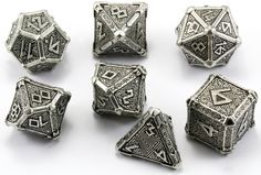 Roll up for the Magical Mythical Tour! Mythical metal dice are here.