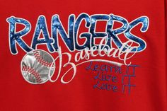 Baseball Shirts, Embroidered Shirts, Neon Signs, Embroidery, Learning, Trending Outfits, My Style, Softball