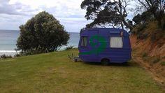 Caravan - A kiwi icon  #New Zealand #Matakana