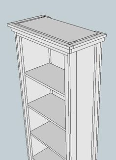 Ana White | Build a The Favorite Bookshelf | Free and Easy DIY Project and Furniture Plans