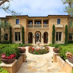 Excellent Mediterranean Style House Colors And Mediterranean House Decor Similiar Mediterranean Style Homes Exterior Keywords Architecture Restaurant, House Architecture Styles, Mediterranean Architecture, Building Architecture, Restaurant Design, Tuscan Style Homes, Mediterranean Style Homes, Spanish Style Homes, Mediterranean House Exterior