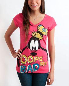 Goofy  Casual  Fashion  T shirt