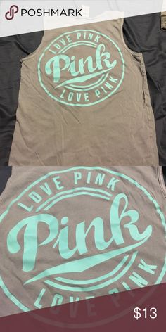 Pink tank top VS Pink tank PINK Victoria's Secret Tops Tank Tops