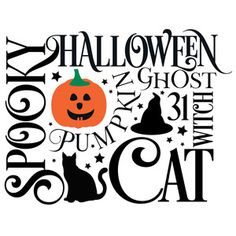 Welcome to the Silhouette Design Store, your source for craft machine cut files, fonts, SVGs, and other digital content for use with the Silhouette CAMEO® and other electronic cutting machines. Halloween Vinyl, Halloween Subway Art, Fall Subway Art, Halloween Painting, Halloween Signs, Halloween Projects, Halloween Shirt, Fall Halloween, Halloween Table