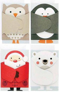 25 славных новогодних открыток, которые очень просто сделать самостоятельно - Pics.Ru