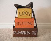 I can never find good Thanksgiving decorations. This one is super cute.