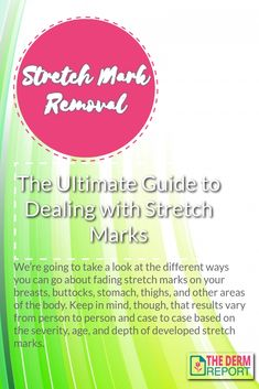 Stretch Mark Removal Guide We're going to take a look at the different ways you can go about fading stretch marks on your breasts, buttocks, stomach, thighs, and other areas of the body. Keep in mind, though, that results vary from person to person and case to case based on the severity, age, and depth of developed stretch marks. Stretch Marks On Thighs, Stretch Mark Removal, Ingrown Hair Serum, Pimples On Forehead, How To Get Rid Of Acne, Skin Firming, Aloe Vera Gel, Keep In Mind, Skin Care Tips