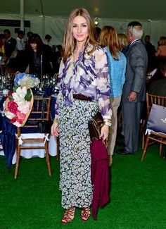 Olivia Palermo - Celebs at the Sentabale Charity Polo Match