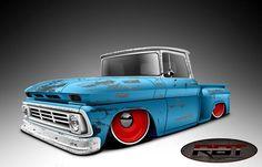 55 Chevy Truck, Classic Chevy Trucks, Gmc Trucks, Mini Trucks, Cool Trucks, Chevy Stepside, Truck Art, Garage Art, Car Illustration