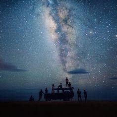 Stargazing squad goals  | Kauai Hawaii | Chelsea Yamase Say Yes To Adventure