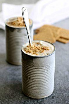 Yogurt helado de banano con mantequilla de maní | 27 Recetas de yogurt helado que te harán serle infiel al helado