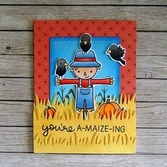 Happy Harvest Card 1 | Joyce Heinen | Flickr