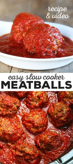 Get this tested, easy-to-follow recipe for gluten free slow cooker meatballs. All the right herbs and spices, all the taste, none of the fuss!