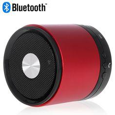 Red Bluetooth LED Indicator Speaker for Smartphones #bluetooth #indicator #speakers #music #box $17.58 Best Speakers, Bluetooth, Smartphone, Led, Music, Musica, Musik, Muziek, Music Activities