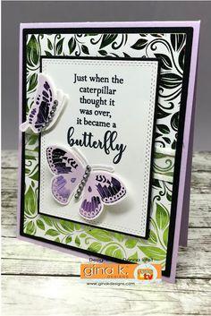 Gina K. Designs - Stamp-n-Foil Blog Hop | Creative Lady