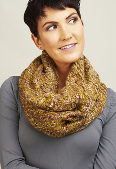 Multi Color Sweater Knit Scarf by HAUTE HUDSON
