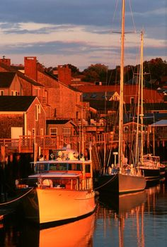 Camden Harbor, Maine, by Brenda Tharp Places Around The World, Oh The Places You'll Go, Around The Worlds, Camden Maine, Rockland Maine, Wonderful Places, Beautiful Places, Travel Usa, Travel Maine