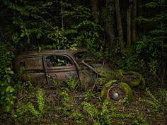 Последнее пристанище авто в фотопроекте «Райская парковка» « FotoRelax
