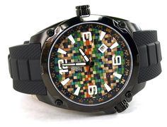 Recycled Skateboard Watch Second Shot Skate Watch by SecondShot