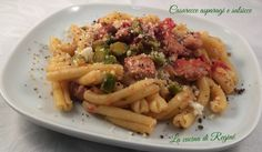 asparagi e salsicce