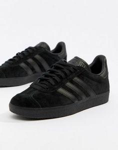 wholesale dealer 4b670 7ba8e Achetez adidas Originals - Gazelle - Baskets - Noir sur ASOS. Découvrez la  mode en