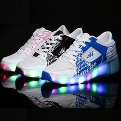 Children Shoe Sneakers With Wheels Light Kids Girl Shoes Automatic One Wheel Shoes Kids With LED Lights Flash Roller Shoes