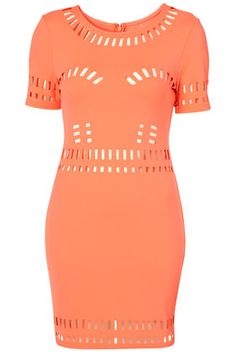 Wish: the body necessary to werq this laser cut, bodycon dress! Wow! Topshop