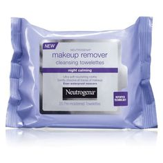 Neutrogena: Night Calming Makeup Remover Towelettes --$8
