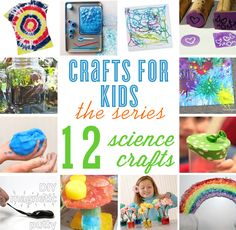 Crafts for Kids series ~ 12 science crafts to keep your kids learning this summer | curated by blog.thecelebrationshoppe.com