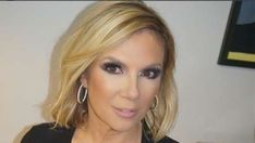 Ramona Singer looking stunning in professional makeup