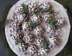 Havasi tobozok, ennél mutatósabb karácsonyi süti nincs! - Ketkes.com Christmas Sweets, Christmas Cookies, Christmas Time, Christmas Crafts, Xmas, Hungarian Recipes, Diy Cake, Truffles, Green Beans