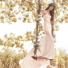 A #fairytale dream come true with @mikaellabridal's boho chic gown! #Mikaella