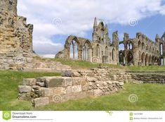 Whitby Abbey Ruin, Yorkshire, Uk. Stock Photo - Image of entrance, countryside: 104707988