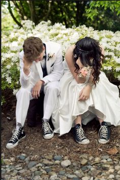 I want to do this for Spring Formal with converse!!