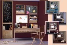 Sims 4. Ibiza Office. ~ pqSim4