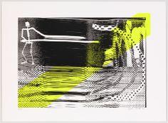 Sigmar Polke. The First Cut (Der erste Schnitt). 1995