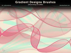 Gradient Designs Photoshop Brushes